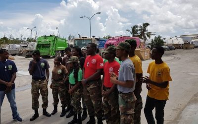 Bahamas Waste Engages RBDF Rangers for Commonwealth Youth Games