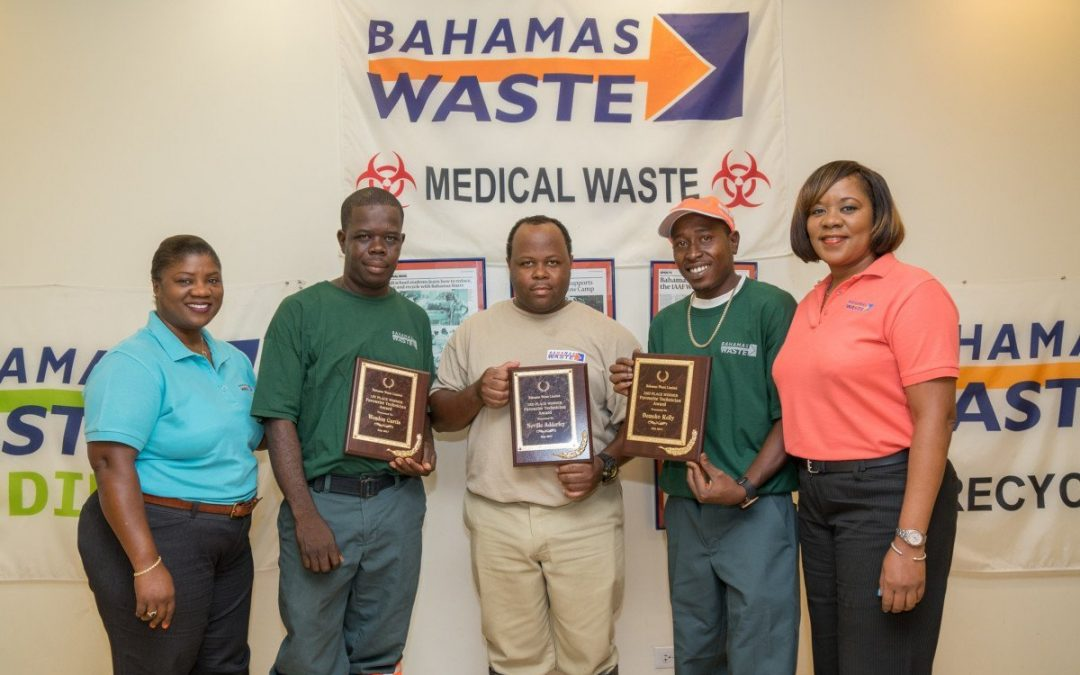 Bahamas Waste Crowns #MyGarbageTech Winner
