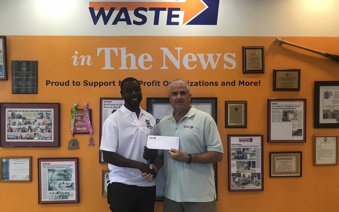 Bahamas Waste takes title sponsor of The Bahamas Professional Golf Tour