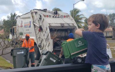 5-year-old Snags Bahamas Waste Snap And Win Prize
